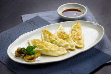 Korean Pan Fried Dumplings (Mandu)