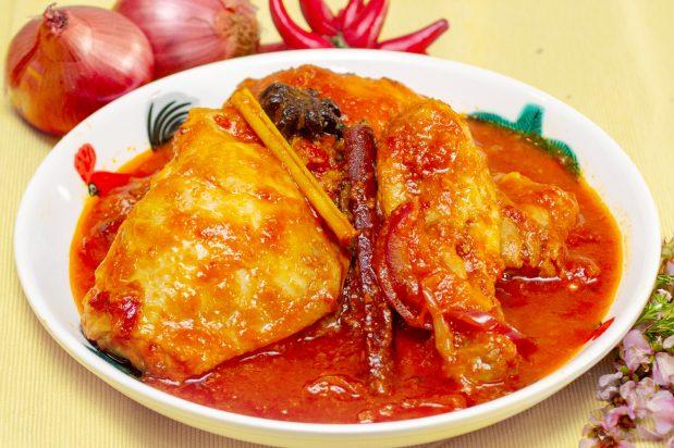 Malay Spicy Tomato Chicken (Ayam Masak Merah)