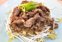 Beef Brisket with Bean Sprouts