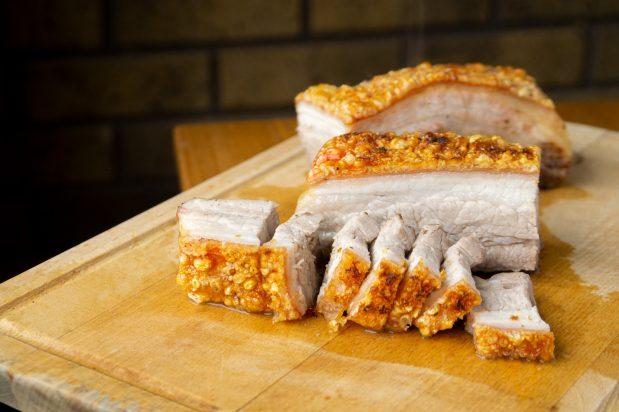 Crispy Roast Pork Belly (Siu Yuk)