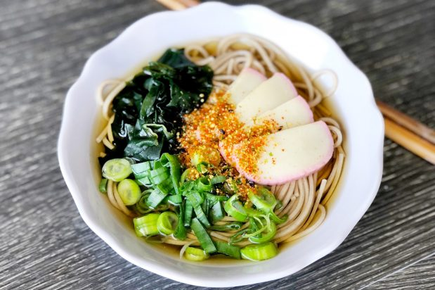 Japanese New Year's Eve Noodles (Toshikoshi Soba)