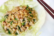 Chicken San Choy Bow