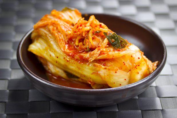 Korean Napa Cabbage Kimchi (Poggi Kimchi)