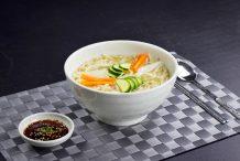 Knife Cut Noodle Soup (Kalguksu)
