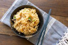 Rice Cooker Mushroom Rice (Shiitake Gohan)