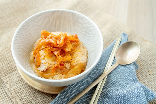 5 Ingredient Kimchi Pork Rice