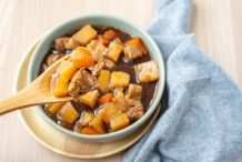 Rice Cooker Japanese Pork Stew