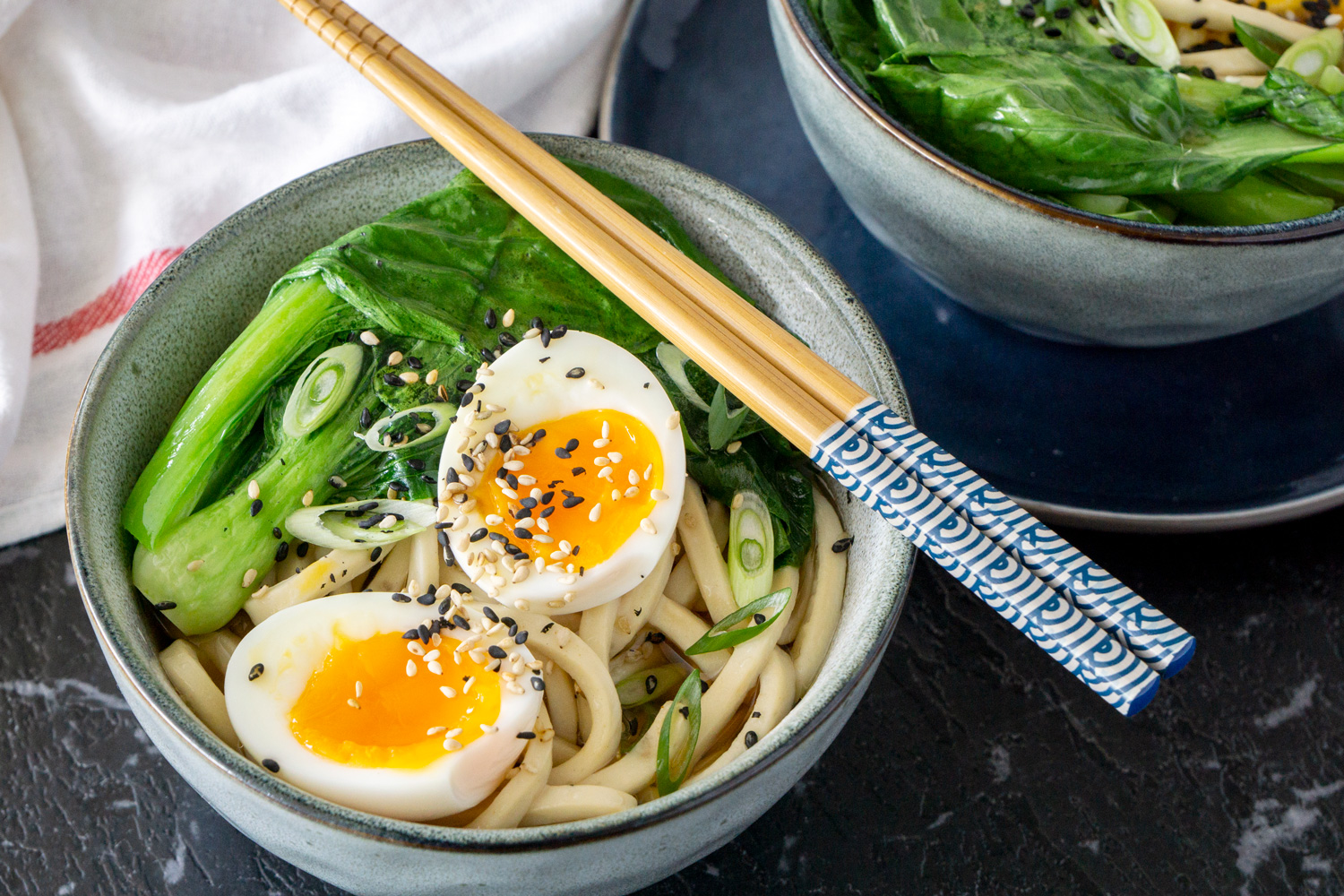 Vegetarian Udon Noodle Soup Asian Inspirations