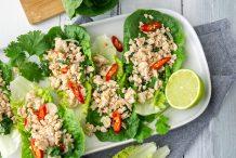 Thai Lettuce Cups (Larb Gai)