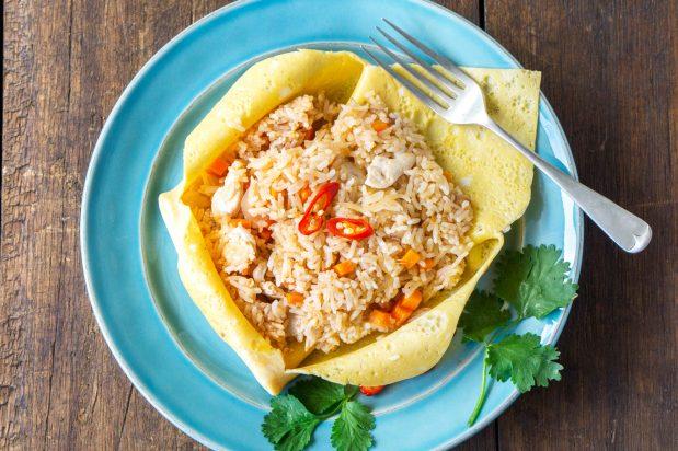 Omelette Fried Rice (Nasi Goreng Pattaya)