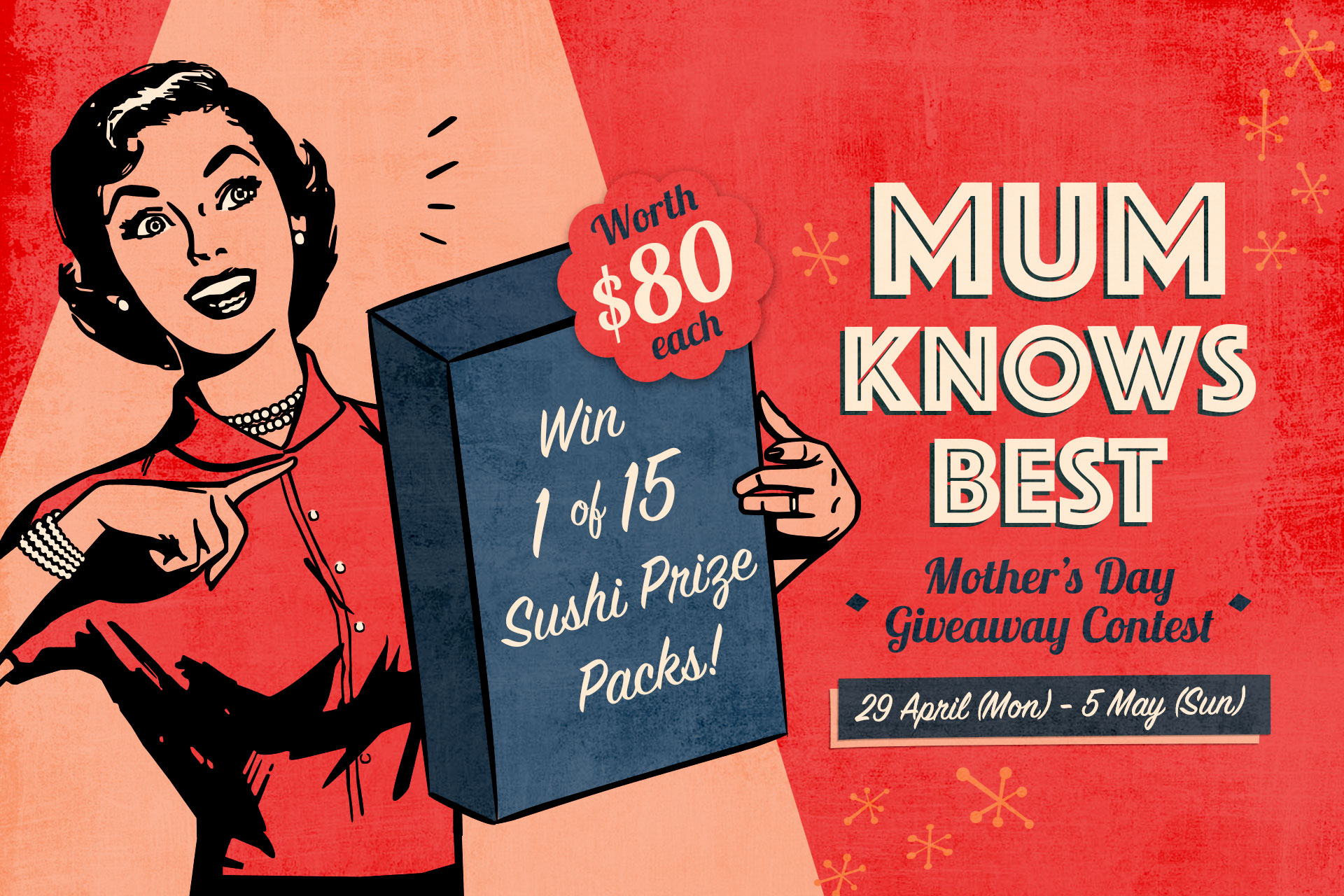 """Mum Knows Best"""" Giveaway Contest 