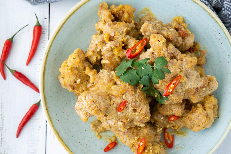 Salted Egg Yolk Chicken Ribs Asian Inspirations