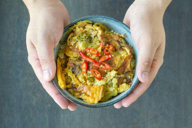 Hot & Sour Omelette