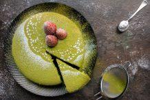 Matcha Green Tea Sponge Cake