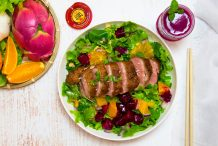 Thai Duck & Dragon Fruit Salad