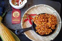Thai Vegan Corn Fritters