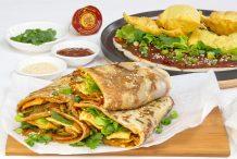 Crispy Chinese Savoury Pancakes (Jian Bing)