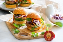 Sticky Tofu Sliders
