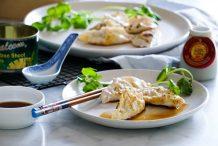 Shiitake Mushroom Dumplings