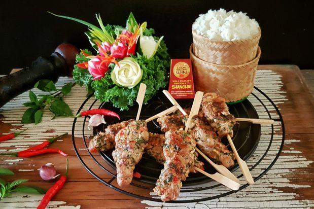Spicy Thai BBQ Pork