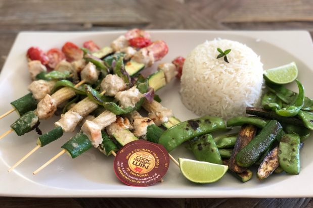 Green Curry BBQ Skewers