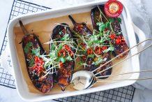 Grilled Miso Eggplant (Nasu Dengaku)