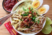 Grandma's Chicken Noodle Soup (Soto Ayam Bali)