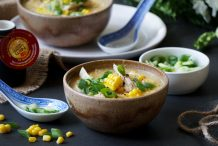 Chinese Chicken & Sweet Corn Wonder Soup