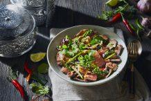 Stir-Fried Thai Lamb (Kae Pad Prik Pon Kratiem Prik Thai)