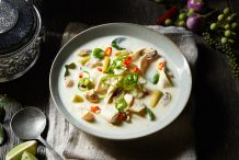 Thai Chicken Coconut Soup (Tom Kha Gai)