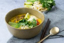 vegan laksa recipe by Asian Inspirations