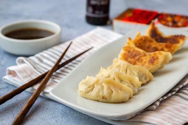 Curry Prawn Gyoza