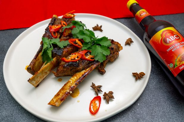 Indonesian BBQ Beef Ribs