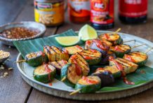 Indonesian Vegetarian Skewers