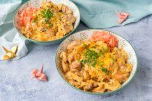 Oyakodon (Chicken and Egg Bowl)