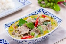 Green Curry with Lamb (Gaeng Keo Wan Gae)