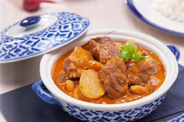 Massaman Curry with Lamb