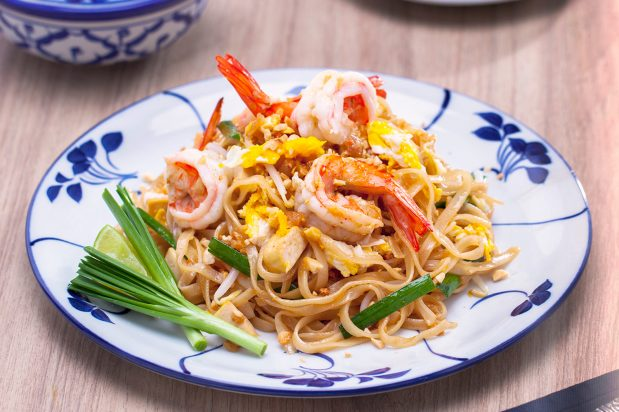 Pad Thai with Prawns (Pad Thai Goong)