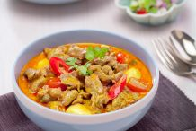 Yellow Curry with Lamb