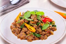 Thai Spicy Basil Beef Stir Fry (Nua Pad Kaprow)