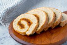 Pineapple Roll Cake (Bahulu Gulung)