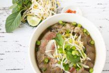 Vietnamese Beef Noodle Soup (Pho Bo)