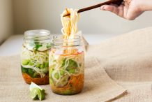 Instant Noodles in a Jar