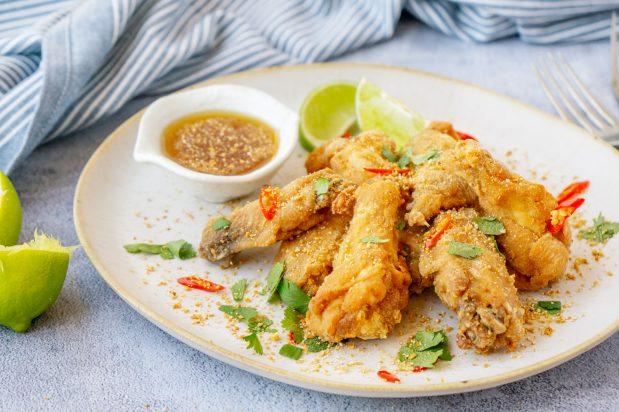 Crispy Larb Chicken Wings