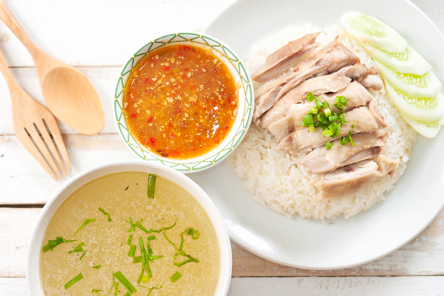 Hainanese Chicken Rice Asian Inspirations