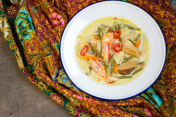 Mixed Vegetable Curry (Sayur Lodeh)