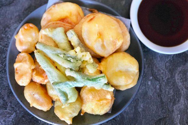 Korean Vegetable Tempura (Yache Twigim)