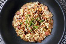 Japanese Style Savoury Pancake (Monjayaki)