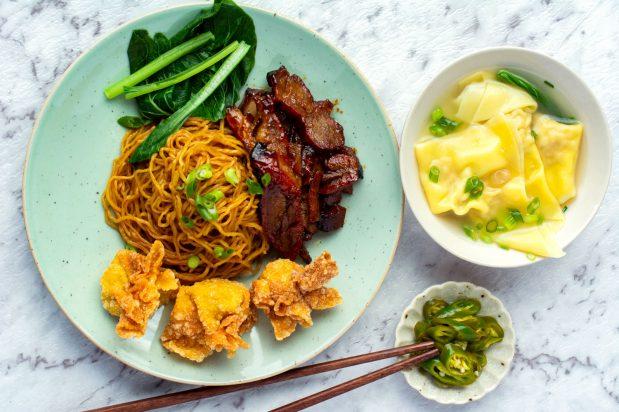 Singapore Dry Wonton Noodles