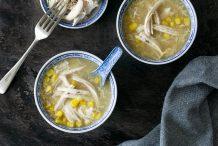 Easy Chicken & Corn Soup